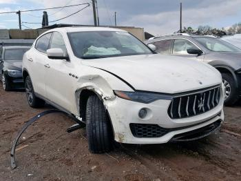 Salvage Maserati Levante